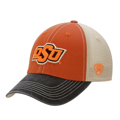 Oklahoma State  Offroad Trucker Adjustable Hat