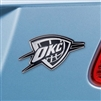 NBA Oklahoma City Thunder Chrome Auto Emblem