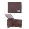 Oklahoma Sooners Brown Leather Bi-Fold Wallet
