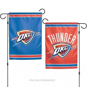 Oklahoma City Thunder WinCraft 12.5 x 18 Garden Flag - 2 Sided