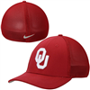 Oklahoma Sooners Nike Performance L91 Mesh Back Swoosh Flex Hat