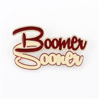 Oklahoma Sooners Slogan Pin
