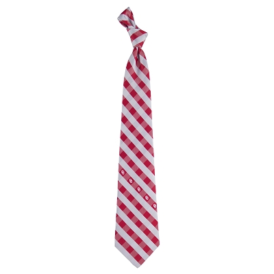 Tie-Oklahoma Sooners Checkered Eagles Wings