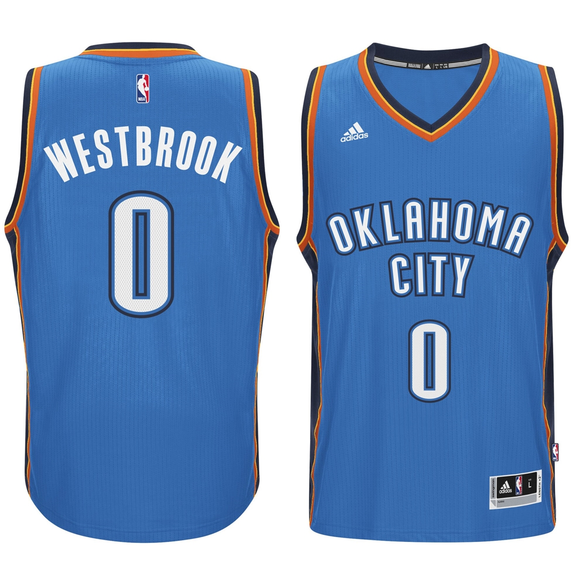 low priced 777bd afef3 Oklahoma City Thunder Jersey #0 Westbrook