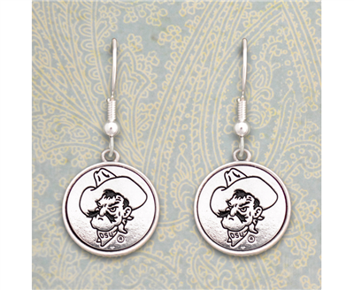 Oklahoma State Cowboys Silver Linings Earrings