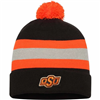 Oklahoma State Cowboys Cuffed Beanie W/Removable Pom Pom