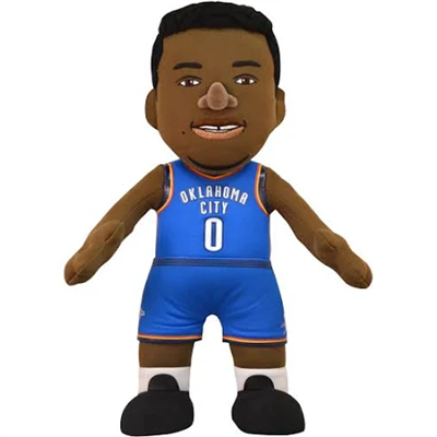 Oklahoma City Thunder Westbrook #0 Plush