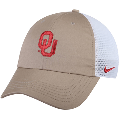 Oklahoma Sooners Nike Trucker Adjustable Performance Hat