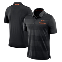 Oklahoma State Cowboys Nike 2018 Early Season Coaches Sideline Performance Polo – Black