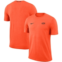 Oklahoma State Cowboys Nike 2018 Coaches Sideline Performance Top – Orange