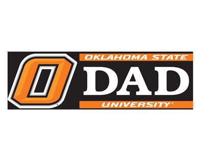 Oklahoma State University Dad Vinyl Decal