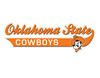 "Oklahoma State Cowboys 12"" Vinyl Decal"