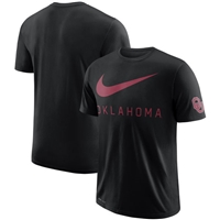 Men's Nike Black Oklahoma Sooners DNA Performance T-Shirt