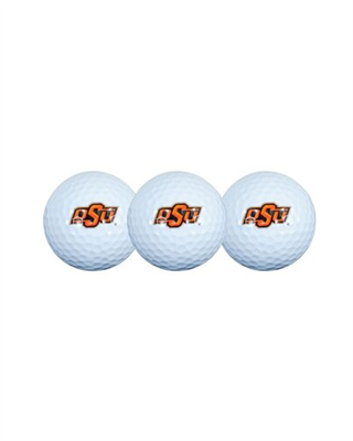 Oklahoma State Cowboys 3 Pack Golf Balls