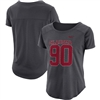Women's Nike Anthracite Oklahoma Sooners Mod Fan Number T-Shirt