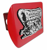 Oklahoma Sooner Schooner Red Hitch Cover