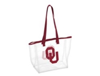 Oklahoma Sooners Clear Tote