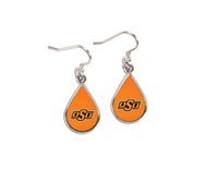 OSU Teardrop Earrings