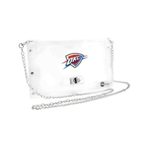 OKC Thunder Clear Envelope Purse