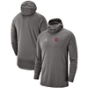Oklahoma Sooners Jordan Brand Bala Hooded Long Sleeve T-Shirt – Heathered Gray