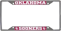 Oklahoma Sooners Metal Licence Plate Frame