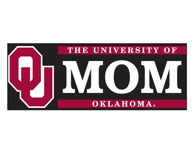 University of Oklahoma Mom W/ OU Vinyl Decal