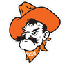 Oklahoma State Pistol Pete Head Vinyl Decal