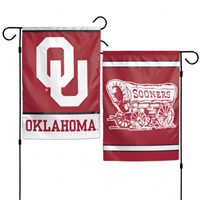 "Oklahoma Sooners 12.5"" x 18"" 2-Sided Garden Flag"