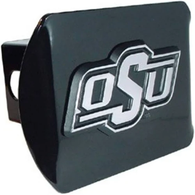 Oklahoma State Metal Hitch Cover