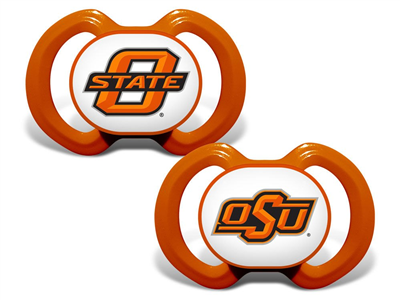 Oklahoma State Baby Pacifier 2 Pack