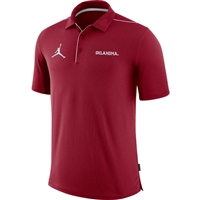 Oklahoma Sooners Jordan Team Issue Polo