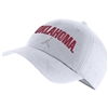 Oklahoma Sooners Jordan College OU Heritage86 Hat Adjustable-White