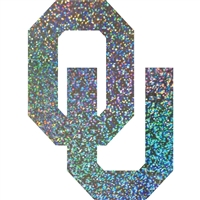 "Oklahoma Sooners Holographic 3"" Vinyl Decal"