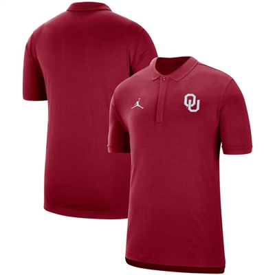 Oklahoma Sooners Coach's Sideline Performance Polo