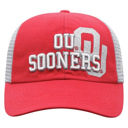new high quality new york catch Oklahoma Sooners Adjustable Glitter Hat
