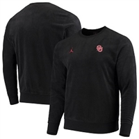 Men's Jordan Brand Black Oklahoma Sooners Team Performance Sweatshirt