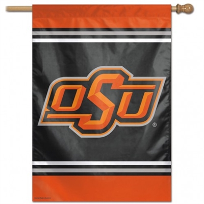 "OKLAHOMA STATE COWBOYS VERTICAL FLAG 28"" X 40"""