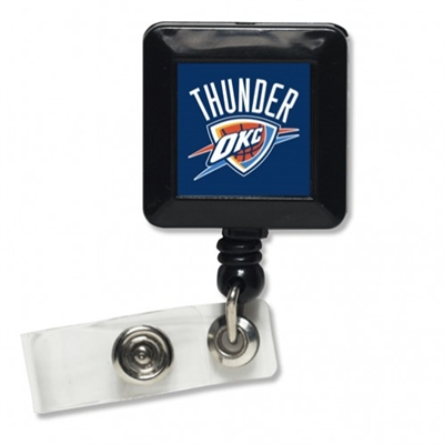 NBA Oklahoma City Thunder Retractable Badge Reel Holder