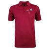 Oklahoma Sooners Antiqua Striped Performance Polo-Crimson