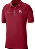 Oklahoma Sooners Jordan Brand 2020 Early Season Coaches Polo - Crimson