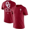Men's Jordan Brand Crimson Oklahoma Sooners DNA Performance T-Shirt - Crimson