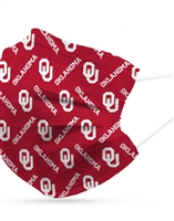 Oklahoma Sooners Reusable Mask