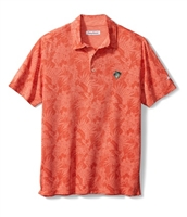 Oklahoma State Men's Tommy Bahama Sport Palmetto Palms  Polo - Orange