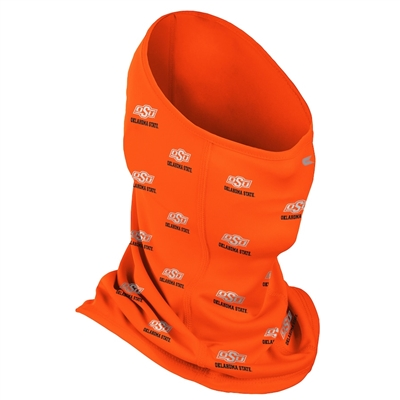 Oklahoma State Cowboys Colosseum Adult Multi-Functional SPF 50 Repeat Logo Neck Gaiter