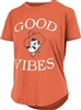 Oklahoma State Cowboys Ladies Good Vibes Tee by Pressbox