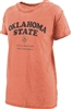 Oklahoma State Ladies Boyfriend Tee Orange by Pressbox