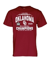 Oklahoma Sooners Big 12 Champions Tee - 6 in a Row