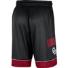 Oklahoma Sooners Jordan Fast Break Basketball Shorts - Black