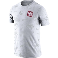 Oklahoma Sooners Nike Spring Break Tee - White