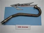 2005 450R HEADPIPE NO HEAT SHIELD 04-05